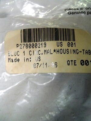 Male 1 Wire Housing Tab Seadoo Part Number 278000219