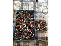 HUGE LEGO BUNDLE OF OVER 100KG + OVER 6KG OF FIGURES!!