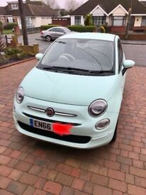 2017 Fiat 500 Pop Star 1.2, Manual, 2000 miles since new. Still under warranty. Immaculate Condition