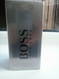 Genuine mens boss bottled 50ml (boxed and wrapped)
