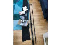 Steadfast 2XL Silver Surf Beach/Pier Fishing Kit (Rod and Reel)
