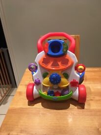 Chico baby steps activity walker.