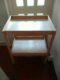 IKEA baby changing unit