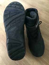 Motorcycle boots-RICHA- short ankle- waterproof- Like new- worn once