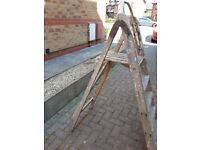 Wooden step ladders - Purchaser to collect