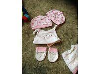 Baby girl cloths bundle newborn- 0/3 months