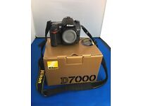 For sale a Nokon D7000 Digital Camera Compleat with box and Charger and Manuel