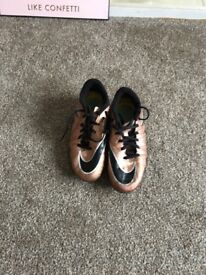 Nike firm ground football boots size 5.5