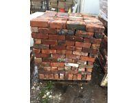 Reclaimed Cheshire bricks 10,000