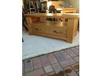 Solid Pine TV stand - NEXT HARTFORD RANGE