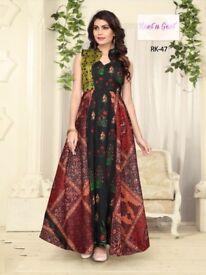 Catlog - Rivaz fabric - Quelity green silk