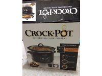 Crock-Pot 4.7L Digital Countdown Slow Cooker, Black