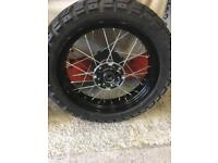 Honda Africa Twin CRF1000 wheels and tyres