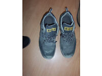 Size 12 pair of mens E.C.J walking boots.