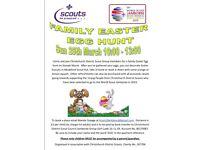 Family Easter Egg Hunt, Mudeford, Christchurch