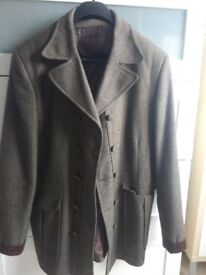 """Mens designer jacket - """"u are u for myself """"- very good condition wool content size 40"""