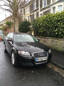 Audi A3 Sportback 5 door in Black