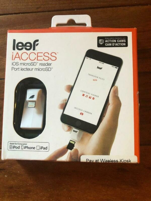 Leef iAccess Series Micro SD Card Reader for iOS Smartphones/iPads/iPods - White