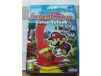 Wii u paper Mario colour smash (new)