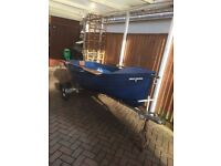 10ft dinghy and trailer