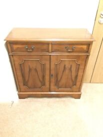Reproduction Rosewood Cupboard