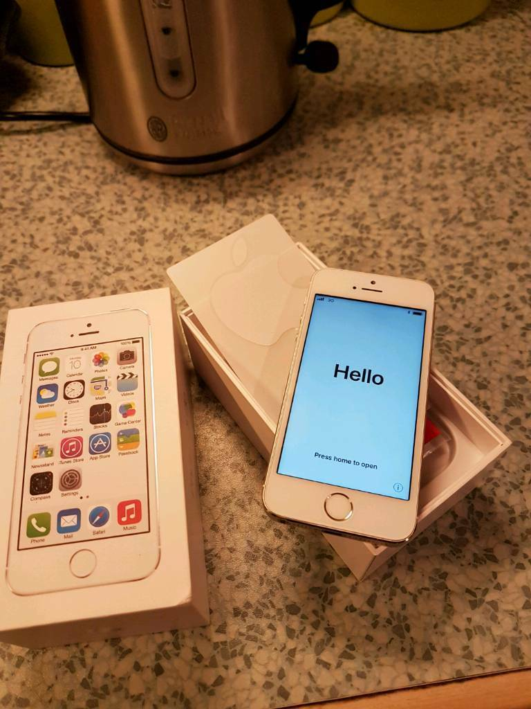 Excellent condition IPhone 5s on Vodafone