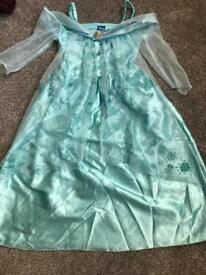 Disney Elsa dress 7-8 years