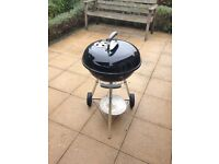 Weber compact charcoal BBQ
