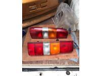 Transit tail lights