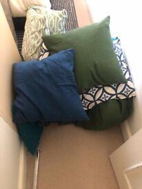15 x cushions