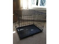Black dog crate/cage. ( X small)