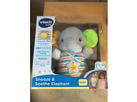 Vtech Baby Snooze & Soothe Elephant NEW