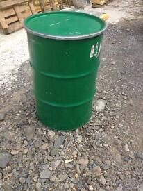 45 gallon drums