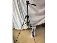 Tripod. Velbon CX-200 lightweight photo or video camera tripod