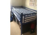 Jay-Be High Bed, Frame (mattress not included), Storage space underneath