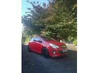 2011 limited edition vauxhall corsa and 4 spare alloy wheels
