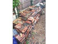 400 clean reclaimed imperial bricks