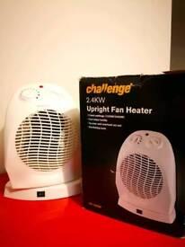 Challenge 2.4KW Upright Fan Heater