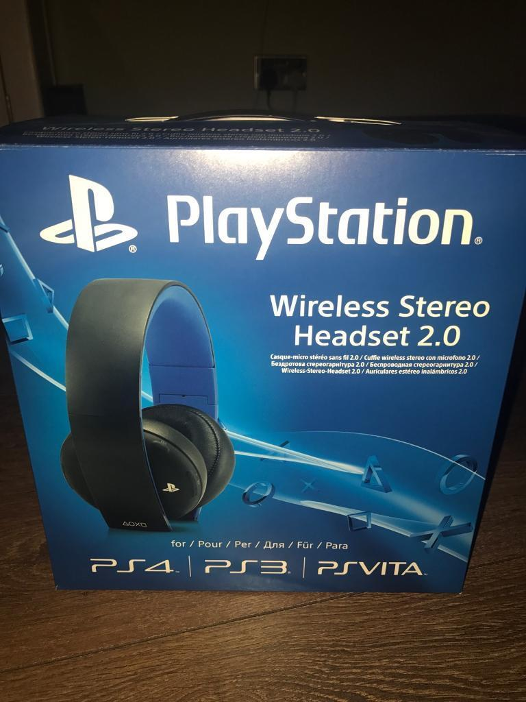 Ps4 PlayStation 4 Wireless Stereo Headset 2.0
