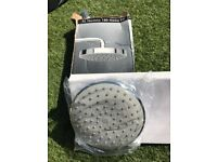 Bathstore XL Techno 180 shower Head Kit and fixed arm (never used)