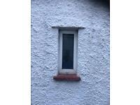 UPVC double glazed window 260 x 620