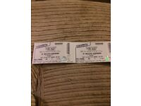 Lethal bizzle tickets x2