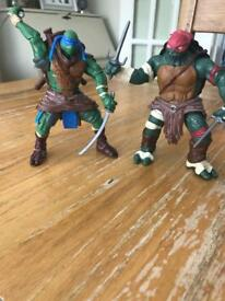 Teenage Mutant Ninja Turtles combat warrior toys