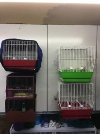 5 Finch/Canary cages for sale,excellent condition