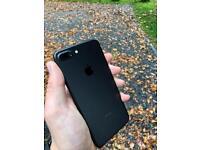 iPhone 7 Plus Matt black 128gb