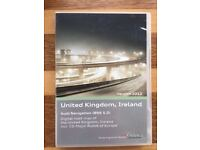 Audi Navigation (BNS 5.0) digitial road map of the UK and Ireland c/w Major Roads of Europe