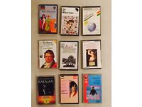 Classical music cassettes