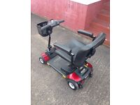Mobility Scooter - Go Go Elite Traveller, 4 wheel, very low mileage, one owner, as new condition