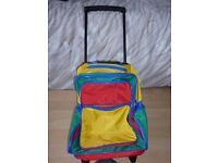 2 Kids backpack/wheeled case