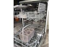 BOSCH - SMS40A18GB Full-size Dishwasher - Silver